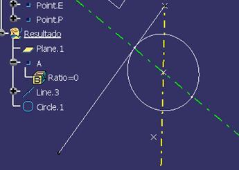 circulo tangente