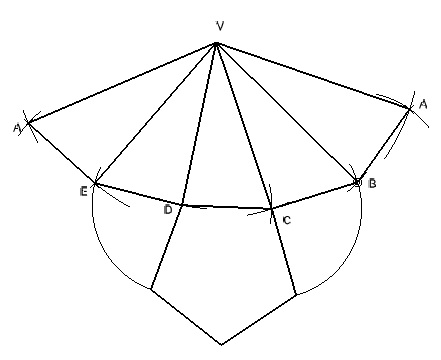 como hacer una piramide desarrollada