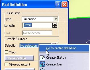 goto profile definition