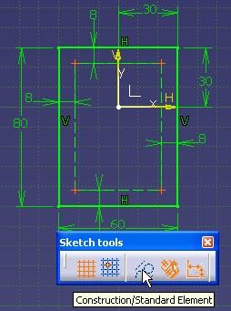 Convertir los puntois en standard y las lineas en construccion