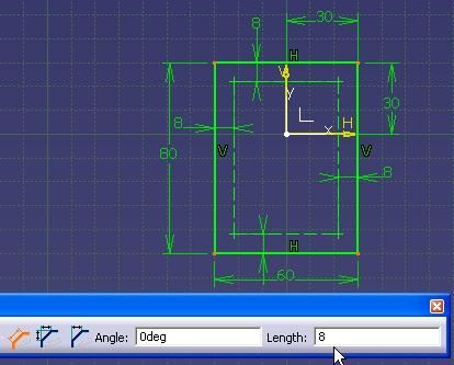 Puntos estandar y lineas de construccion