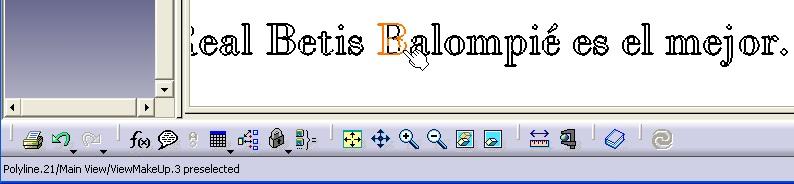 Real Betis en letras