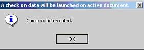 Comando interrupted