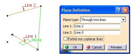 Imagen: dos lineas