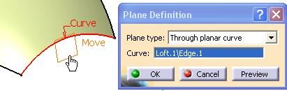 Imagen: curva planar